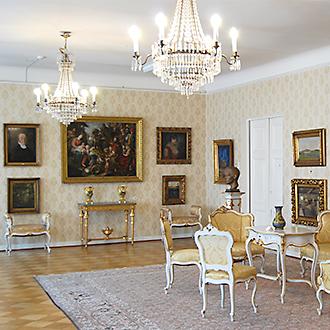 Hiekan taidemuseo Tampereella, museon yksi huone